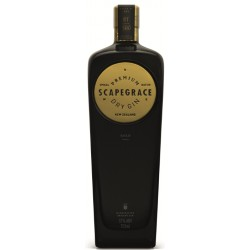 SCAPEGRACE GOLD DRY GIN NEW ZEALAND